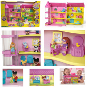 NEW! EXCLUSIVE Cabbage Patch Kids - BABYLAND GENERAL HOSPITAL PLAYSET - 3 -Story Elevator, Transformins Playset, Interactive Nursery, Head - To - Toe Cheque Ups, Includes Exclusive Twin Babies