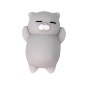 UPLOTER Squishy Squeeze Toy Stress Reliever Soft Colourful Bear Slow Rising Toys
