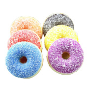 UPLOTER Squishy Squeeze Toy Stress Reliever Soft Colourful Doughnut Scented Slow Rising Toys