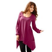 Women Top, Realdo O Neck Long Sleeve Pocket Irregular Blouse T-Shirt