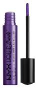 Nyx Professional Makeup Liquid Suede Metallic Matte Cream Lipstick, Ego, 4ml