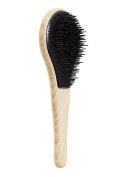 Michel Mercier, Black, Detangling Wooden Brush for Thick Hair