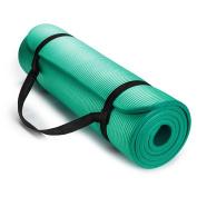 Oalas Extra Thick 180cm Long NBR Soft Comfort Beginner Training Foam Indoor Outdoor Yoga Exercise Mat Pilates