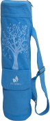 Fit Spirit Tree of Life Exercise Yoga Mat Bag w/ 2 Cargo Pockets - Choose Your Colour