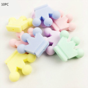 Best for baby Silicone Toy BPA Free Silicone teether Candy Crown Baby toys Baby teether DIY shower Gift natural Jewellery Accessories Newborn toys