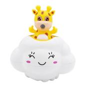 Aideal Bathtub Shower Toy Cute Deer Rain Cloud Baby Bath Play Toys Gifts