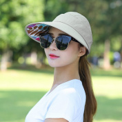 Hooded Day Day Leisure All Match Outdoors Foldable Empty Top Sun Sun Shade Sun Hat