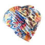 Swimming Hat, FeiliandaJJ Women's Long Hair Bathing Cap Swimming Cap Stretch Drape