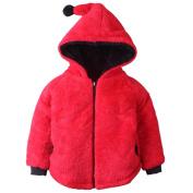 Gaddrt Baby Boy Girls Infant Warm Winter Round Collar Long Sleeve Tops