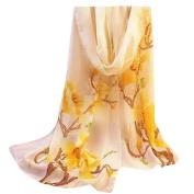 Women Lady Scarf, Xinantime Fashion Chiffon Floral Prints Shawl Scarf
