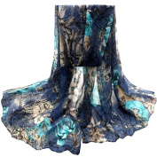 Women Scarves, Xinantime Flower Womens Voile Stole Scarves Long Neck Wraps Shawl Scarf