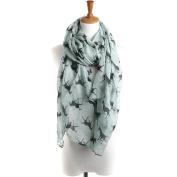 Women Scarves, Xinantime Ladies Lace Horse Print Pattern Long Scarf Warm Wrap Shawl