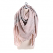 Women Neck Scarves, Xinantime Wool Plaid Stitch Long Cashmere Shawl Neck Scarf