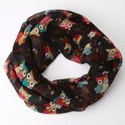Women Scarves, Xinantime Ladies Owl Pattern Print Warm Wrap Shawl Scarf
