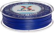 MAXX Professional PLA Filament, 1.75 mm Diameter, 750g Spool, Electrical Blue
