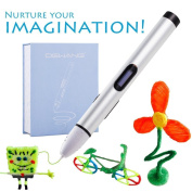 4th Generation Low Temperature Printing 3D Pen with Display Learn and Develop Toys for Children Interact with Children and Nurture Imagination