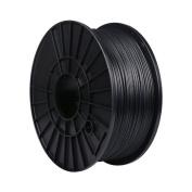 PoPprint 3D Printer Filament CARBON 1.75mm Dimensional Accuracy +/- 0.05mm, 1.75 mm, 1 kg Spool, Carbon