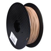 PoPprint 3D Printer Filament WOOD 1.75mm Dimensional Accuracy +/- 0.05mm, 1.75 mm, 0.8 kg Spool, Wood