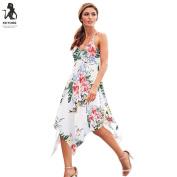 Women Dress, Familizo Ladies Floral Party Holiday Beach Sundress Long Dress