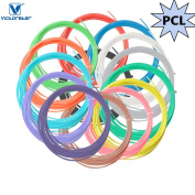3D Pen Filament Refill PCL Refill - VICTORSTAR 14 Colours, 230 Linear Feet(70M) PCL for Low Temperature 3D Doodle Pen, 1.75mm, 16.5 Foot (5M) Each Colour, Low Temperature 70 – 100 ℃, Recycle Materials, No Odour, Better to Kid's Health and Safe