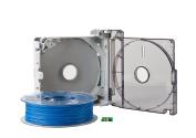3DWOX Refillable Cartridge PLA Blue