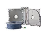 3DWOX Refillable Cartridge PLA Grey
