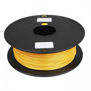 3D Printer supplies Filament RepRap PLA 1kg/roll Golden