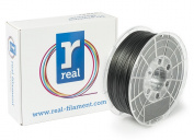 Real Filament 8719128323572 Real Flex, Spool of 1 kg, 1.75 mm, Black