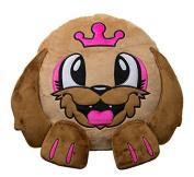 Happy Animal Puppy Decorative Pillow. 32CM Soft Round Plush Toys..