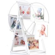 Kglobal 13cm Photo Frame Rotating Ferris Wheel Windmill Shape 12 photos Christmas Wedding Gifts Home Art Decor