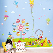 GTNINE Amusement park Fun Life Vinyl Stickers Wall Decal Wall Sticker for Home Decor Kid Children Room Bed room