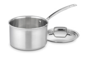 Cuisinart MCP193-18N MultiClad Pro Stainless Steel 2.8l Saucepan with Cover