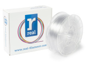 Real Filament 8719128327204 Real PETG, Spool of 1 kg, 2.85 mm, Neutral