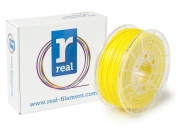 Real Filament 8719128326078 Real PLA, Spool of 1 kg, 2.85 mm, Fluor Yellow