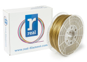 Real Filament 8719128325132 Real PLA, Spool of 1 kg, 2.85 mm, Gold