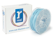Real Filament 8719128325163 Real PLA, Spool of 1 kg, 2.85 mm, Light Blue