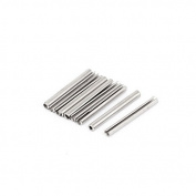 DealMux M2.5x25mm 304 Stainless Steel Split Spring Roll Dowel Pins 10Pcs