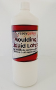Liquid Latex 1 litre. For Mould Making and Prosthetic Costume