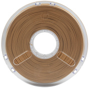 BuildTak PM70133 Polymaker PolyWood Filament, 2.85 mm Diameter, 600 g, 0.60 kg Spool, Wood Mimic Brown
