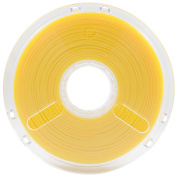 BuildTak PM70155 PolyMax Nano reinforced PLA Filament featuring Jamfree Technology, 0.75 kg Spool, 1.75 mm Diameter, True Yellow
