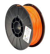 LulzBot Chroma Strand INOVA-1800 Copolyester Filament, 2.85 mm, 1 kg Reel, Orange
