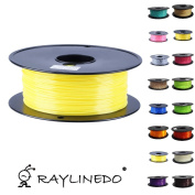 RayLineDo® 1Kilo/1kg Quality ABS 1.75mm 3D Printer Filament Transparent Yellow 3D Printing Pen Materials