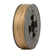 ICE FILAMENTS ICEFIL1PLA107 PLA Filament, 1.75 mm, 0.75 kg, Groovy Gold