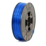 ICE FILAMENTS ICEFIL3PET174 PET Filament, 2.85 mm, 0.75 kg, Transparent Bold Blue