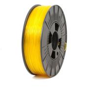 ICE FILAMENTS ICEFIL1PET156 PET Filament, 1.75 mm, 0.75 kg, Transparent Young Yellow