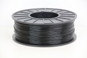 1KG spool of Black ABS 3D printer filament 1.75mm by technologyoutlet