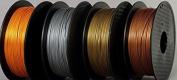 Metafil 3D printer filament Bronze filament by Technologyoutlet 0.8Kg