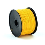 1KG spool of Technologyoutlet GOLD 3.0mm PLA filament european made premium quality for 3D printers