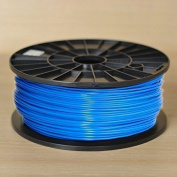 1KG spool of Technologyoutlet BLUE 3.0mm PLA filament premium quality for 3D printers