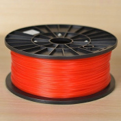 1KG spool of Technologyoutlet RED 3.0mm PLA filament premium quality for 3D printers